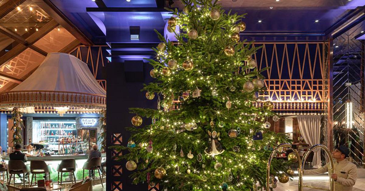 duurste kerstboom staat in spanje